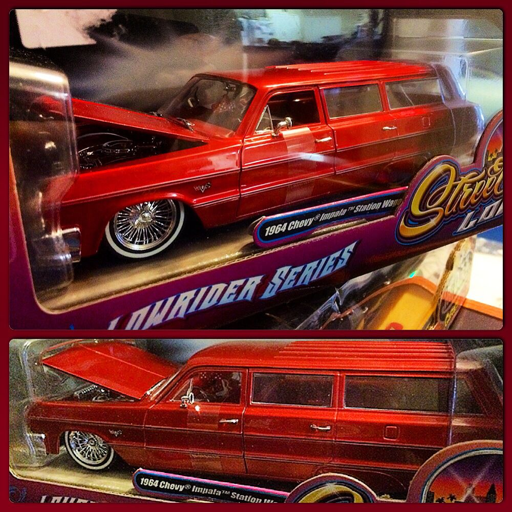 lowrider 64 impala wagon diecast lowrider model cars. Black Bedroom Furniture Sets. Home Design Ideas