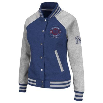 sports shoes 33852 32899 Show off your retro style in this Giants varsity jacket ...
