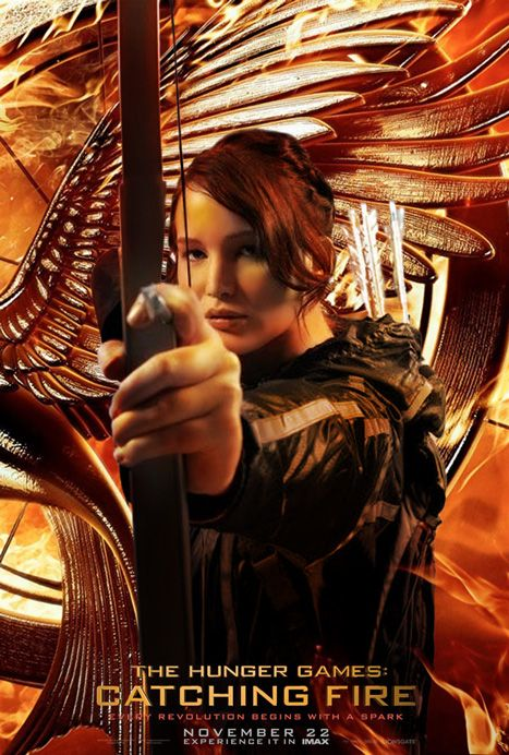 The Hunger Games: Catching Fire Movie Poster by sadobistom ...