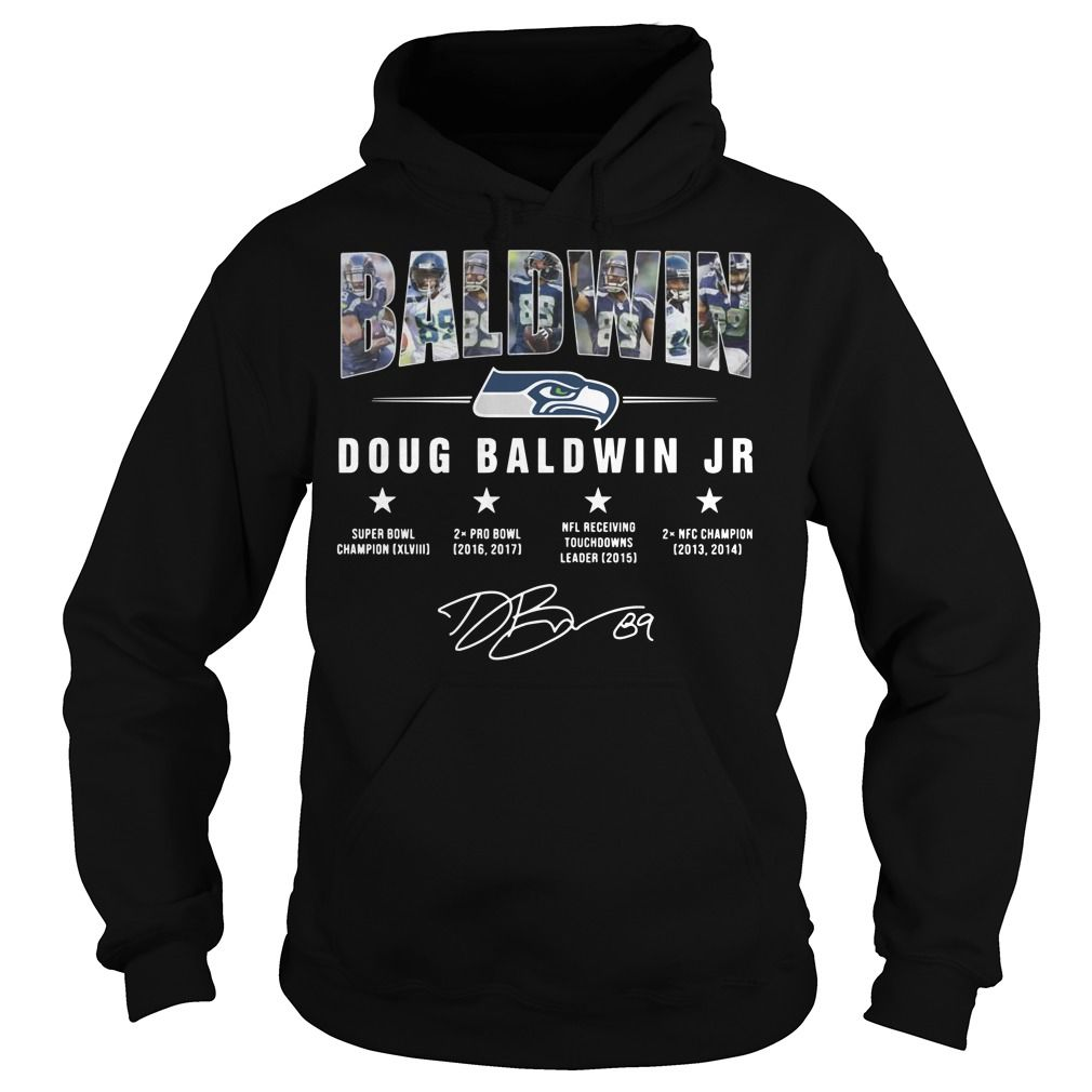 free shipping 5309e b38fa Baldwin Doug Baldwin JR signature shirt, hoodie, tank top ...