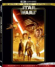 Star Wars Episode Vii The Force Awakens 4k Blu Ray Temporary Cover Art Star Wars Dvd Force Awakens Star Wars Watch