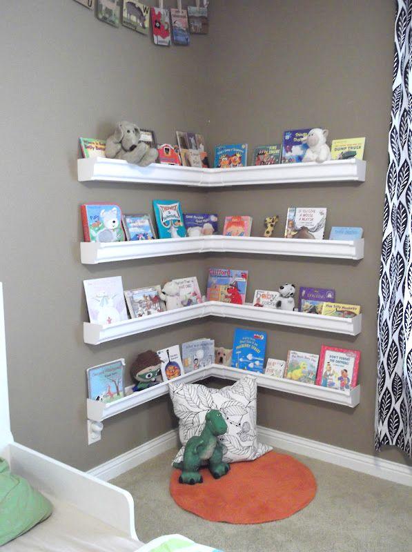 30 best ways to organize books (Storage Solutions
