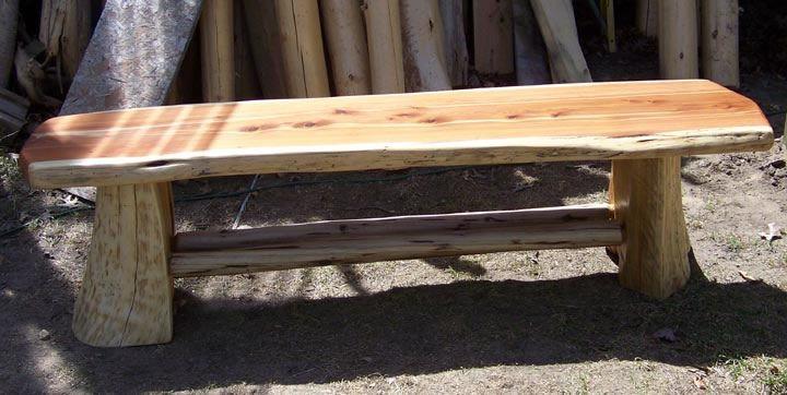 Aromatic Red Cedar Bench Salon