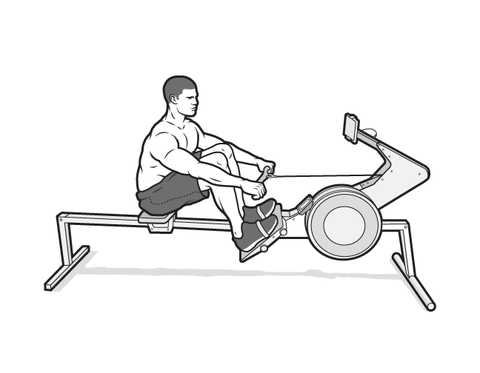 the rowing machine master workout plan  rowing machine