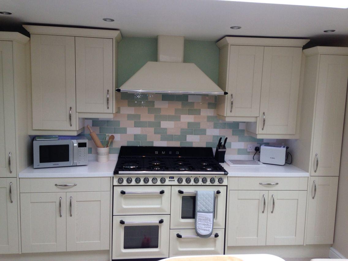 Designer Kitchen In Cream Smeg Oven And Hood  Kitchen Stunning Designer Kitchen Decorating Inspiration