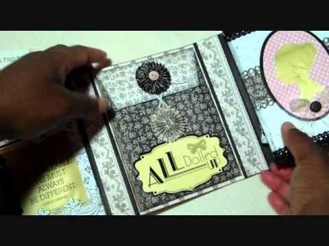 Mini Album Flip book for SWMEB