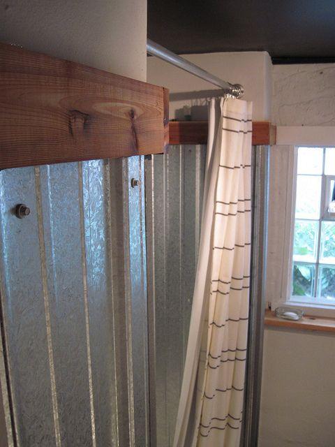 Galvanized Shower Surround Complete How