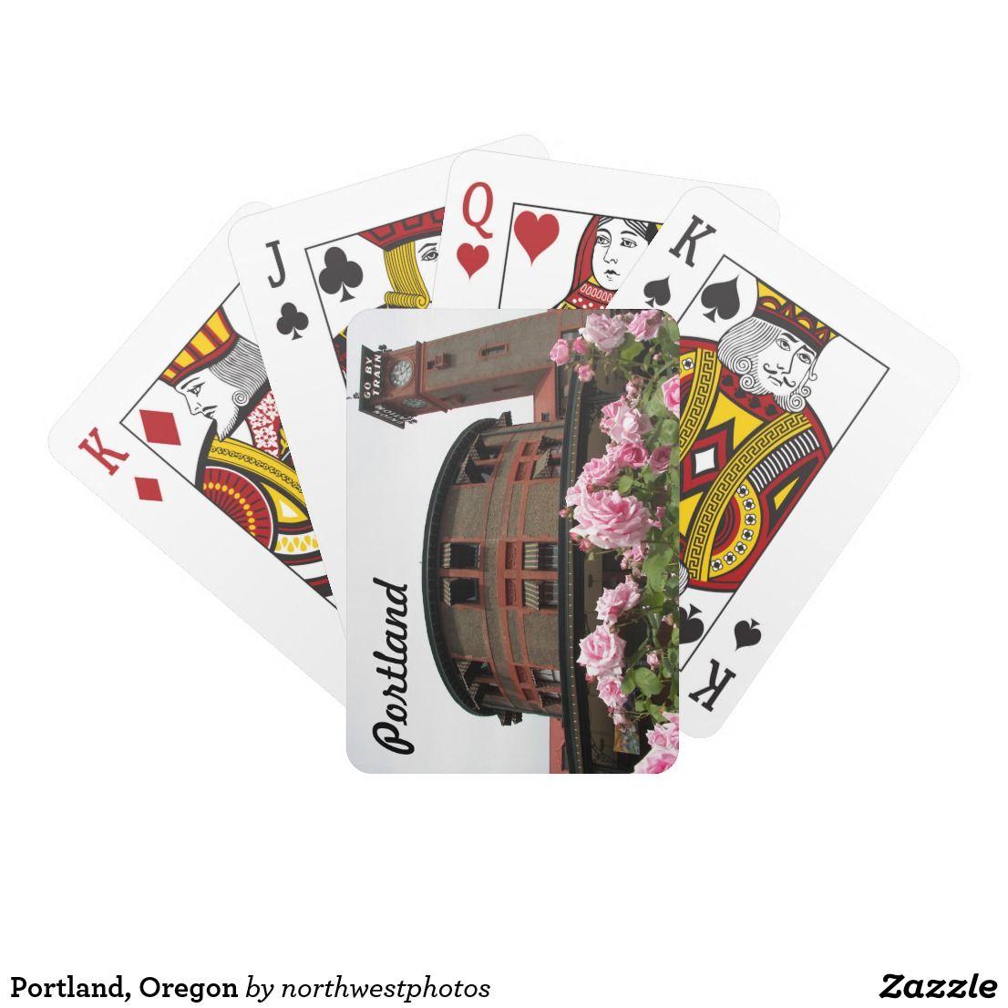 Portland, Oregon Playing Cards