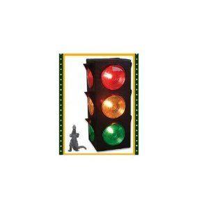 New Large Blinking 3 Sided Traffic Light Signal Lamp Lamp Traffic Light Signal Stop Light