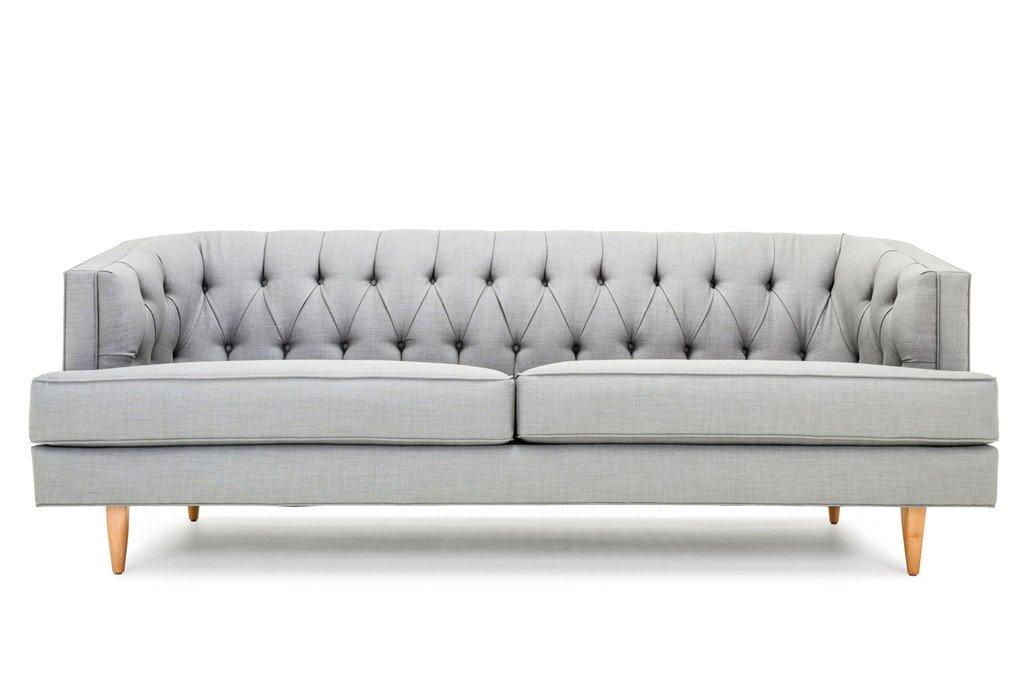 Custom Affordable Diamond Tufted Sofa