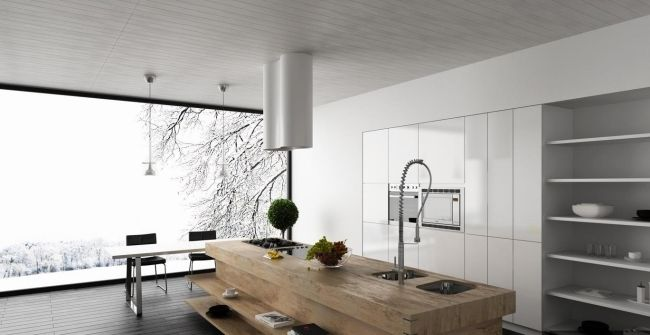 Ides De Cuisine Avec lot Central Contemporaine Ou