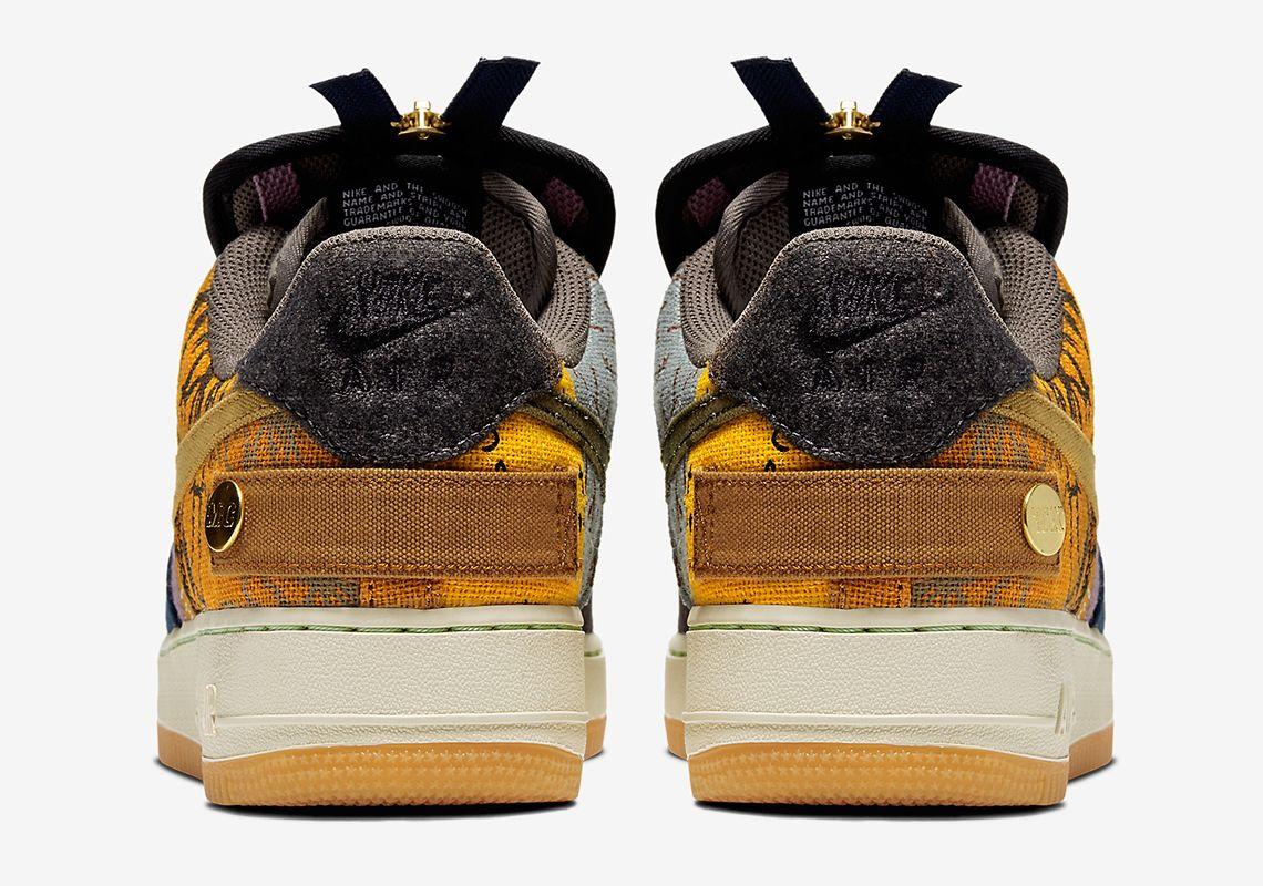 Travis Scott Nike Air Force 1 Low Cn2405 900 Release Date Travis