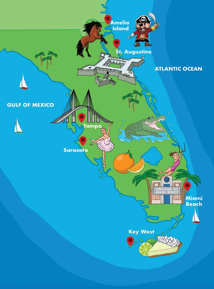 The 6 Best Florida Road Trip Destinations And Itineraries Road Trip Beach Road Trip Road Trip Destinations