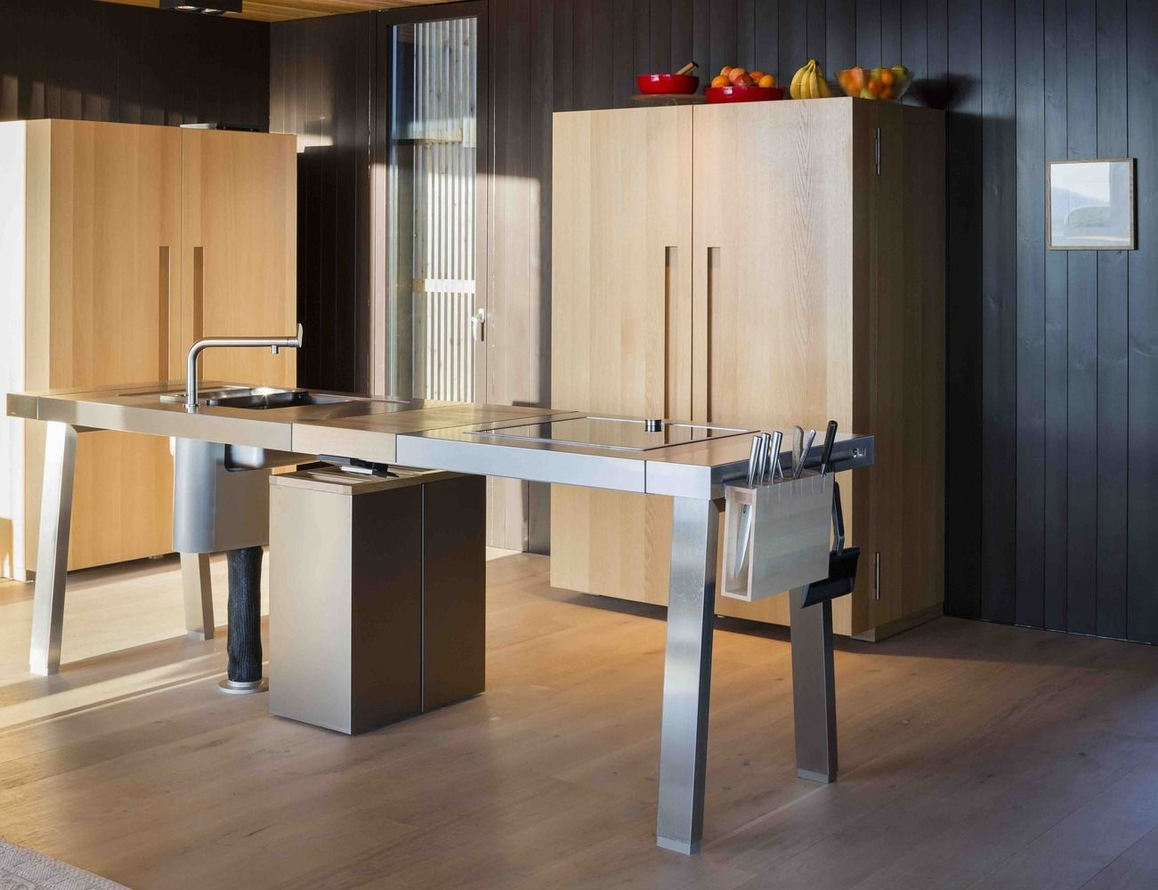 Gallery Of Smart Configurations For Small Kitchens