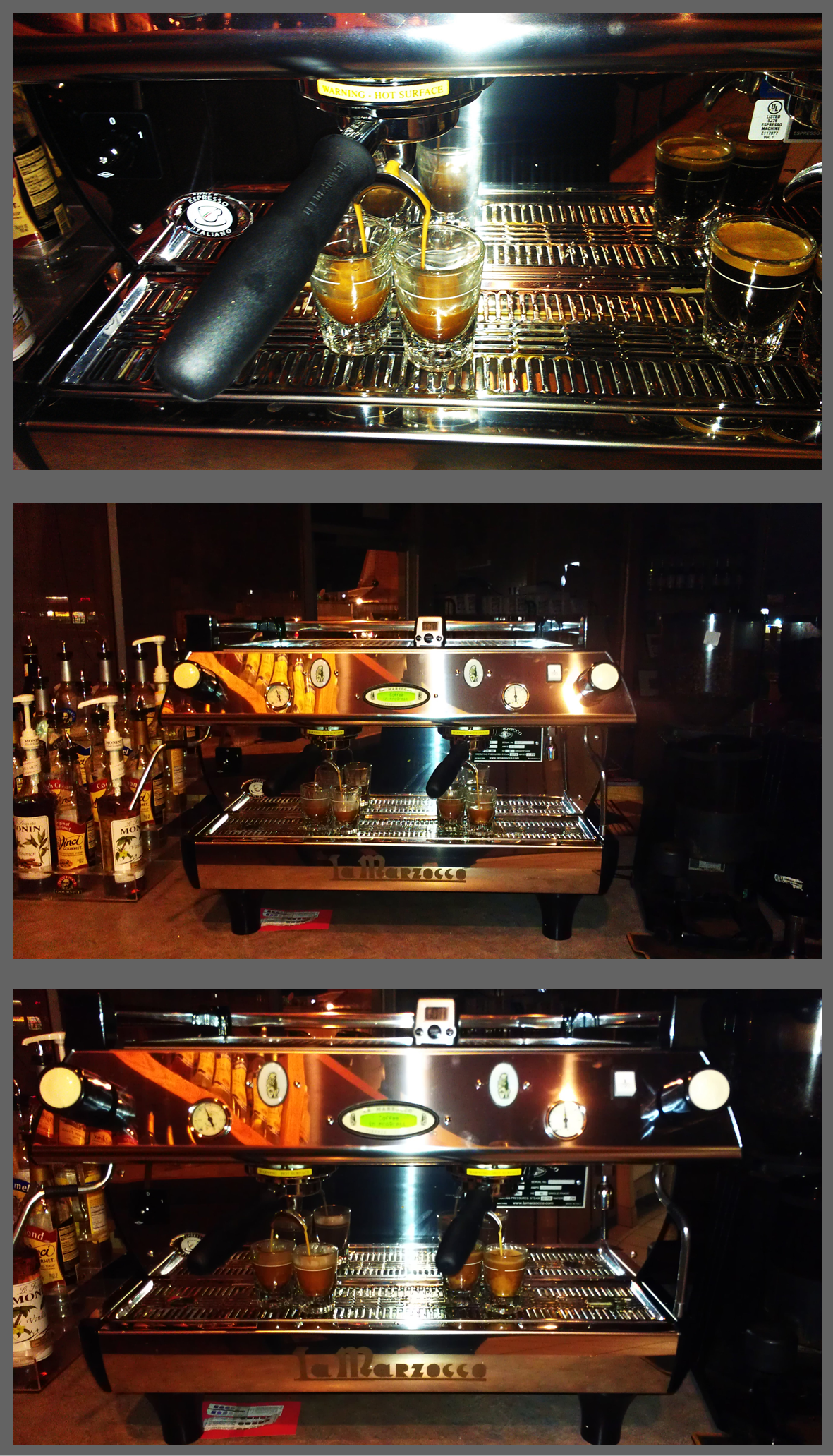 Our south Oklahoma City shop is rocking a new espresso machine! We <3 it!