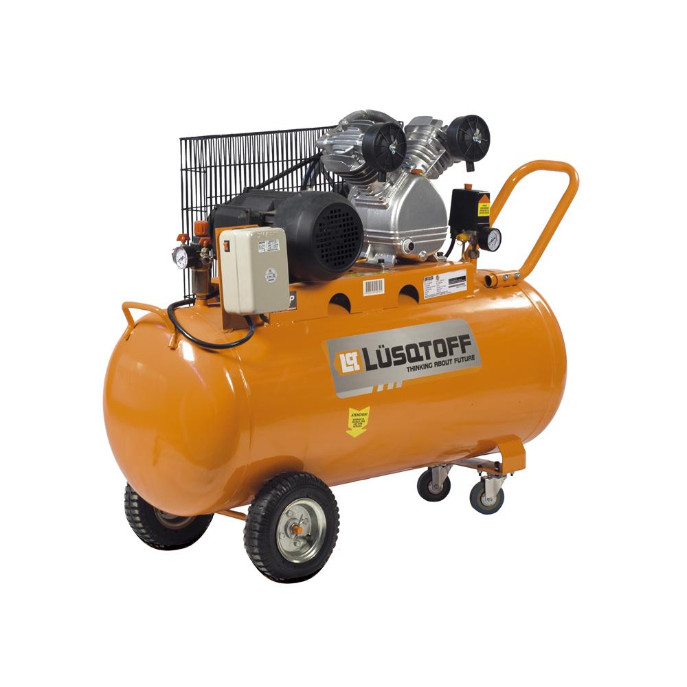 Compresor de aire LC 30150T Lusqtoff 150lts Compresor de