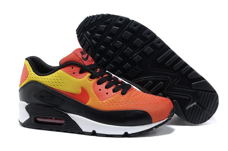 Nike Air Max 90 Mens black orange