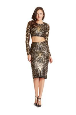 34ec4a439c Anya Two-Piece Sequin Dress | GUESS by Marciano | GLAM! | Dresses ...