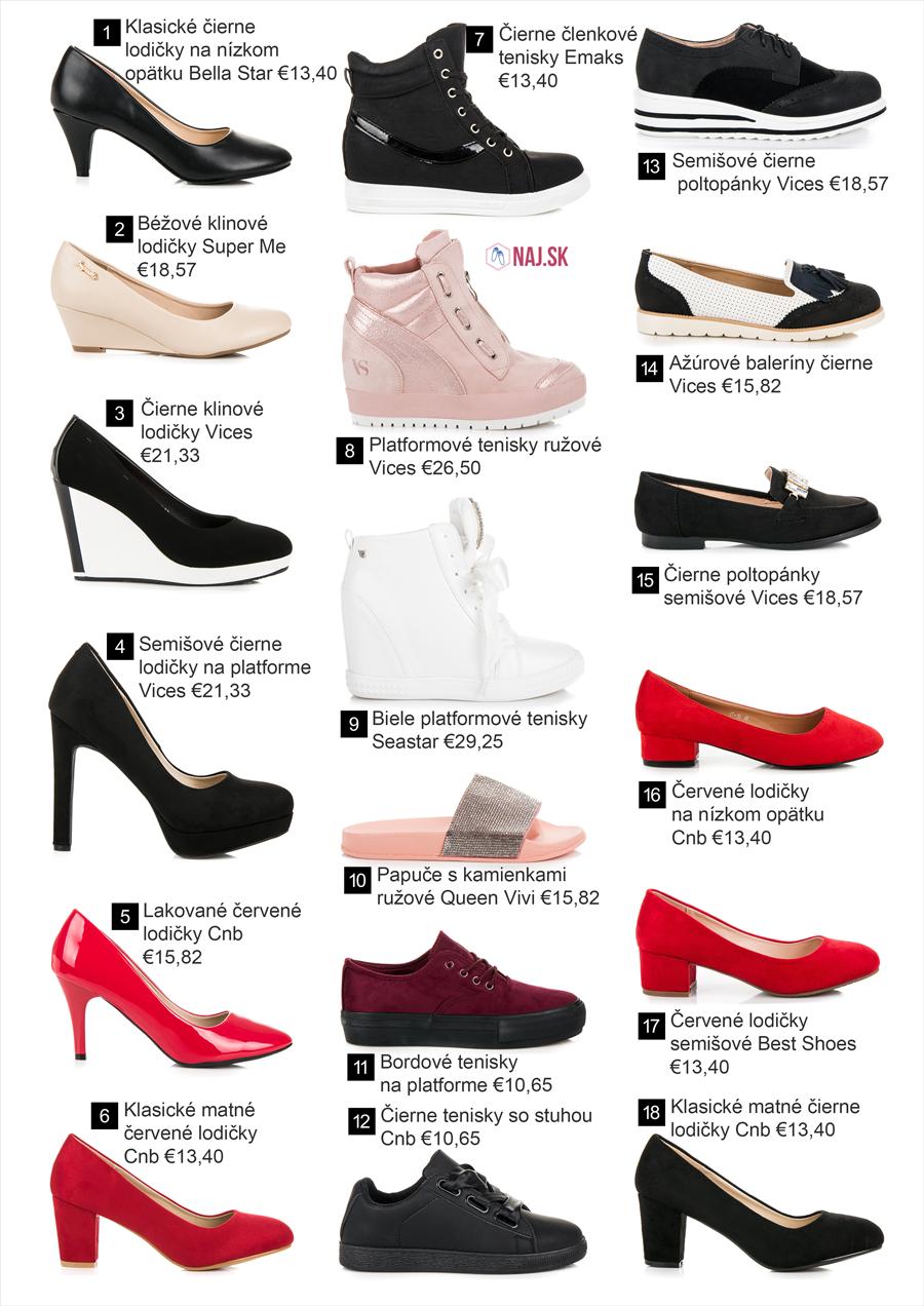 ecf606517b64 Najobľúbenejšie topánky z kolekcie jar leto 2018