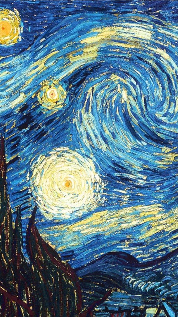 wallpapers: Van Goghs Starry Night |Van Gogh Wallpaper Starry Night
