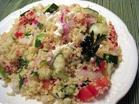 Lynda's Recipe Box: Greek Style Couscous Salad