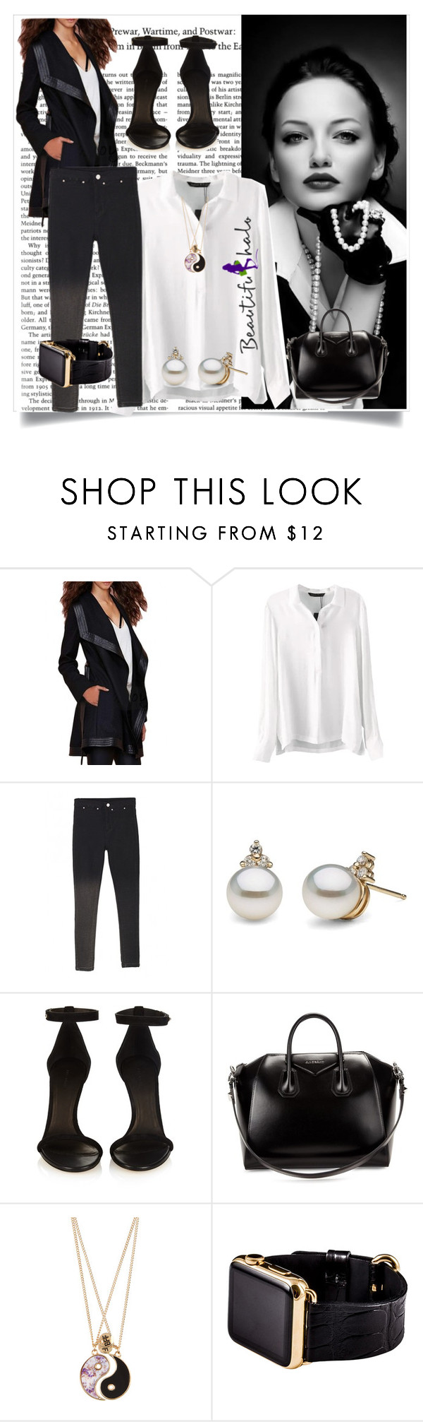 """""""beautifulhalo 123"""" by mamiigou ❤ liked on Polyvore featuring Isabel Marant, Givenchy, Accessorize, Hadoro, women's clothing, women, female, woman, misses and juniors"""
