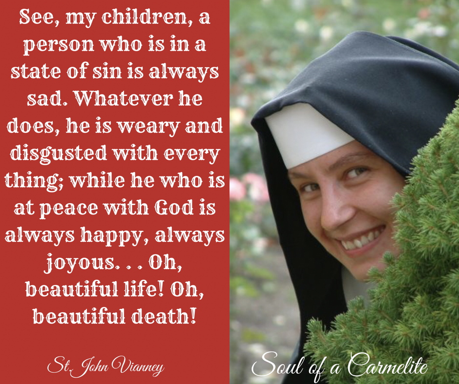 Catholic Quote Of The Day: Soul Of A Carmelite