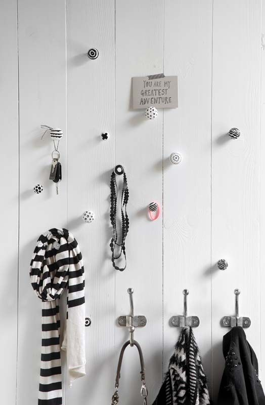 un porte manteau diy pour un int rieur original 20 id es inspirantes la d co de l entr e. Black Bedroom Furniture Sets. Home Design Ideas