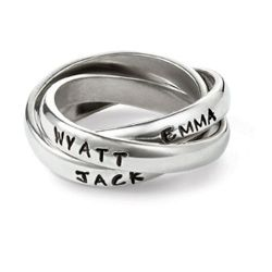 Ring(s) Engraved With Children's Names