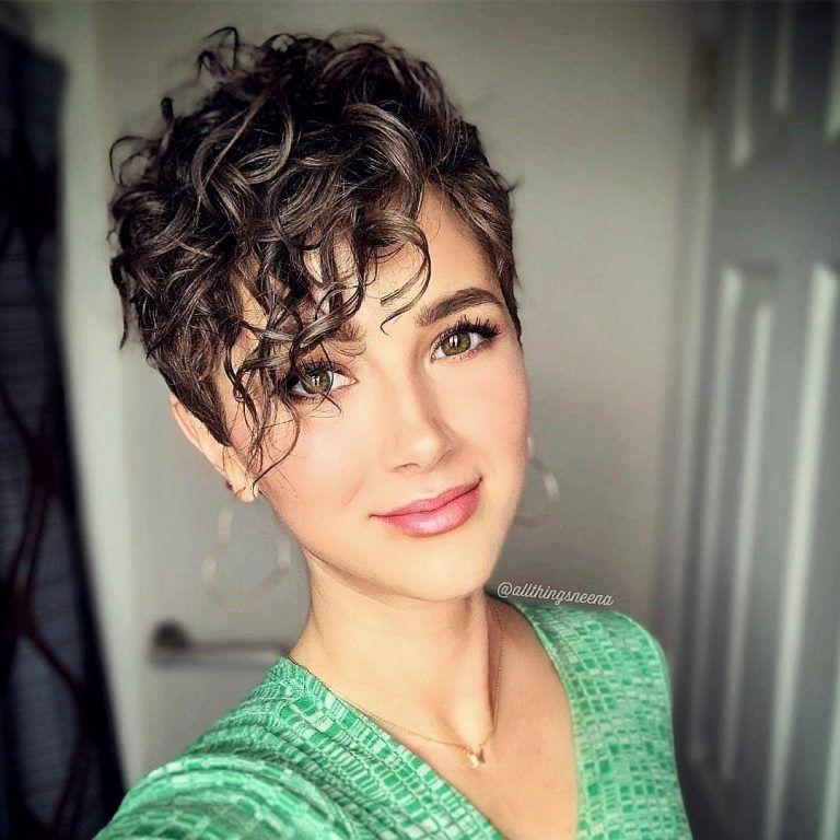 20 exzellent Kurze Frisuren für Frauen #curlshorthair