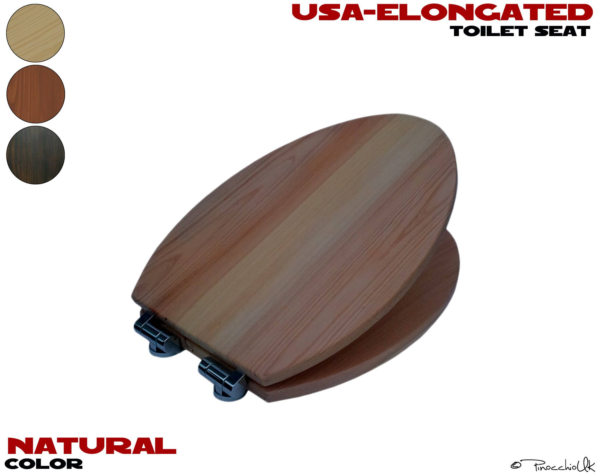 wooden d shaped toilet seat. D Shape Wood Toilet  Rustic Seat For Your Bathroom Http
