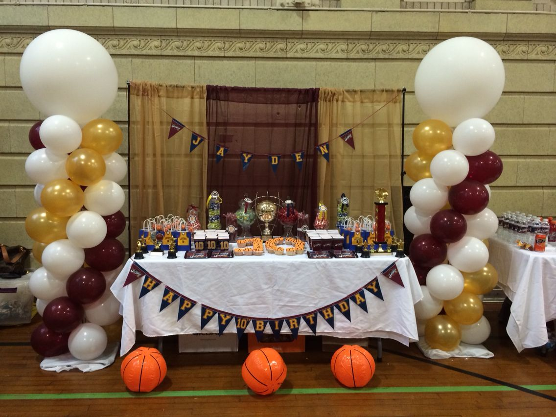 Cleveland Cavaliers Basketball Party Cavs Birthday Party In 2019