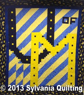 Sylvania Quilting: University of Michigan quilt   Projects to Try ... : quilting university - Adamdwight.com