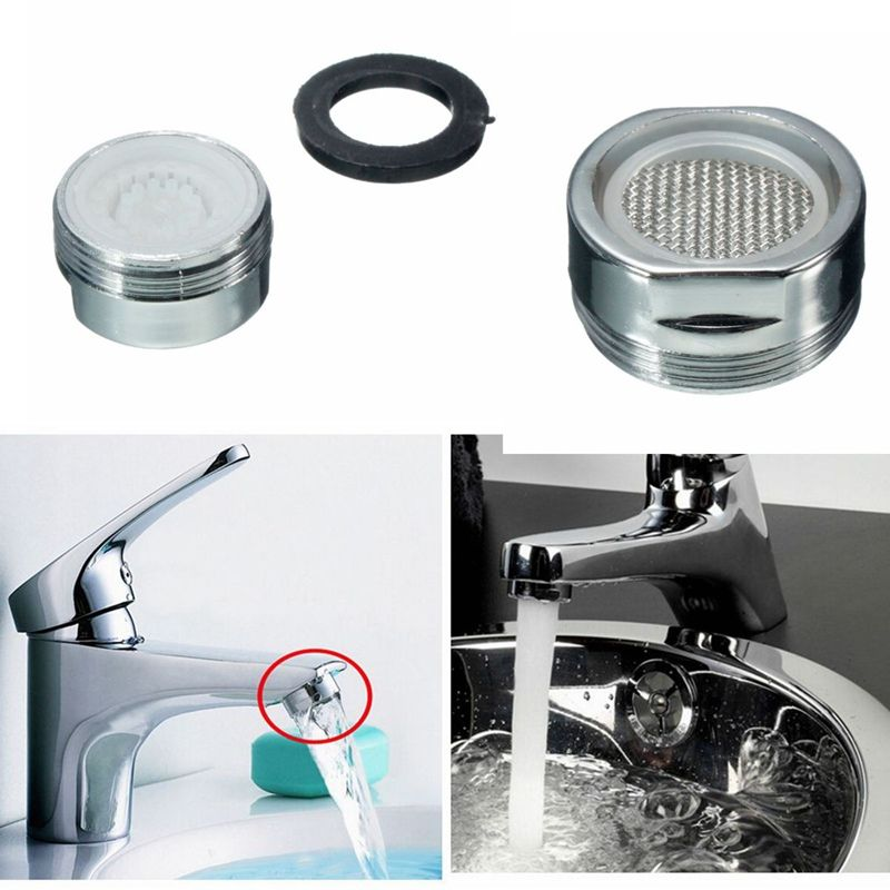 Xueqin 21mm Water Saving Kitchen Faucet Tap Aerator Chrome Male ...