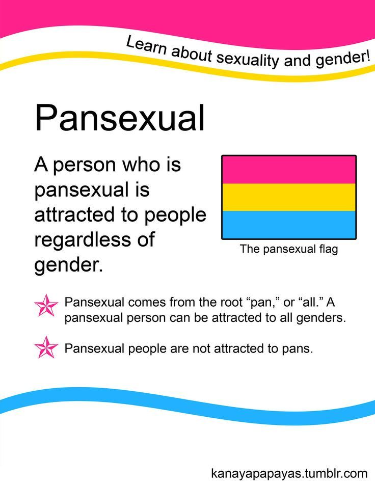 """"""" Pansexual: A person who is pansexual is attracted to people regardless of gender. Pansexual comes from the root """"pan,"""" or """"all."""" A pansexual person can be attracted to all genders."""" The second point looks like a pun. If not it would be in direct contradiction of the first point. Follow this link to find a bundle of videos related to the sociological study of sexuality: http://www.thesociologicalcinema.com/1/category/sexsexuality426c2cb9b6/1.html]…"""
