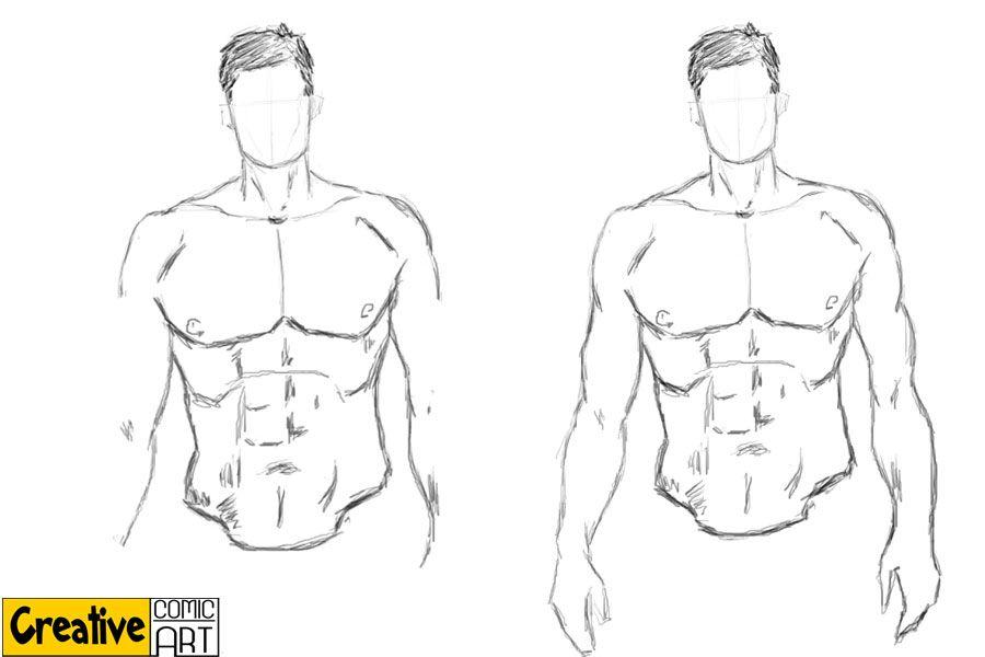 male superhero drawing - Google Search | Art tutorial , templates ...