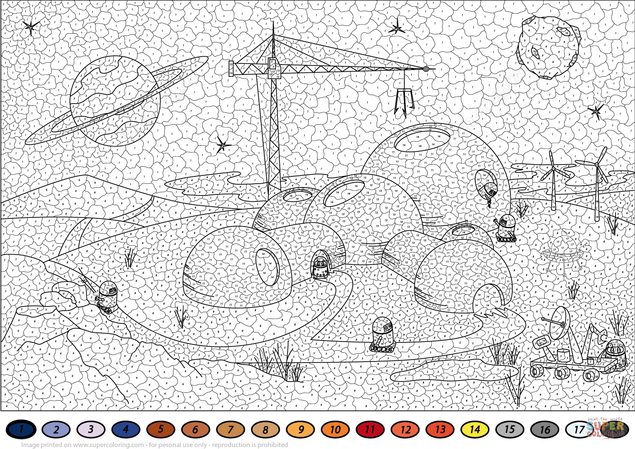 Super Coloring Color By Number Coloring Pages In 2020 Coloring Pages Abstract Coloring Pages Unicorn Coloring Pages