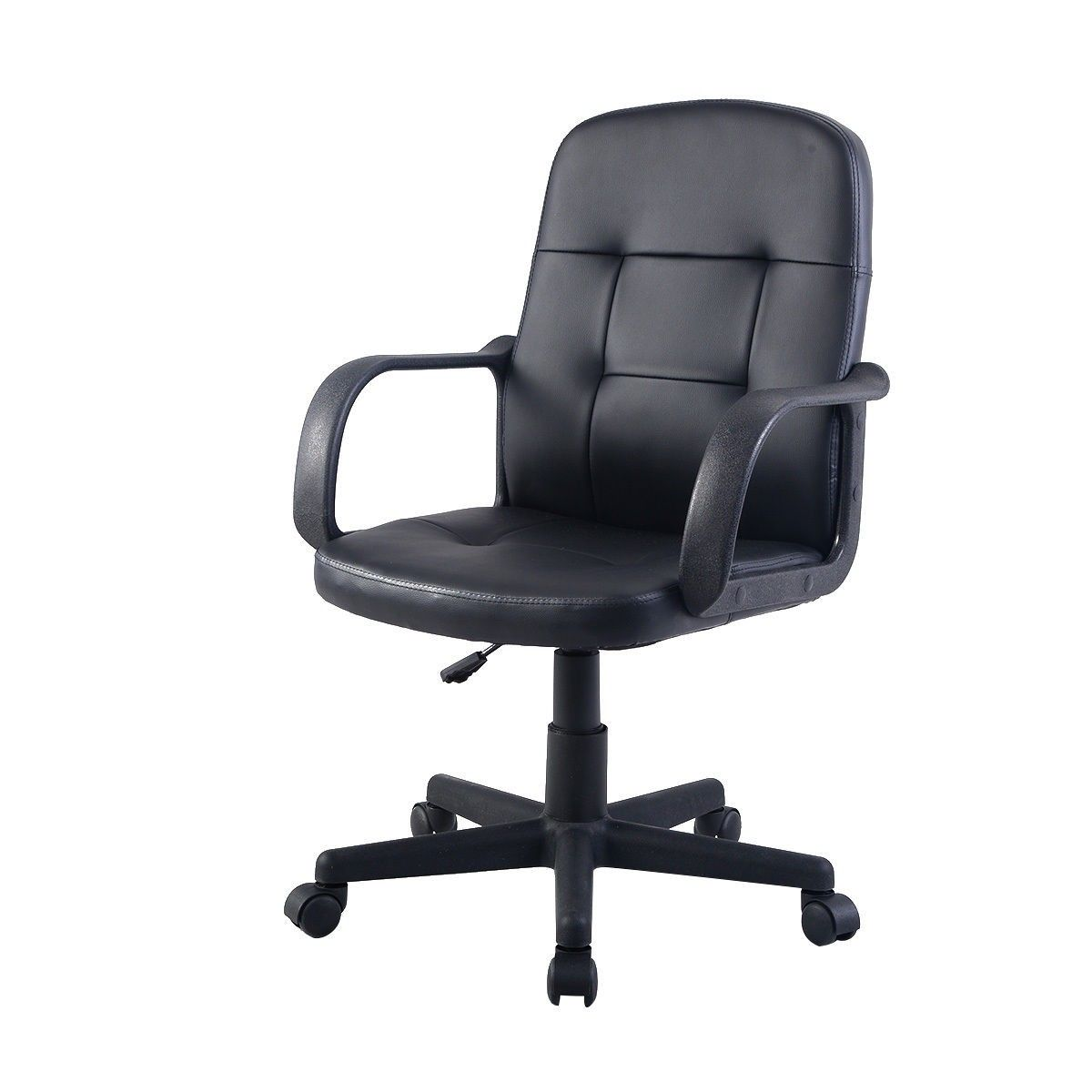 Pu leather ergonomic midback office chair office chair