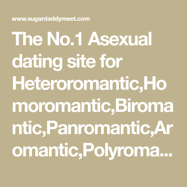 Aromantic dating site