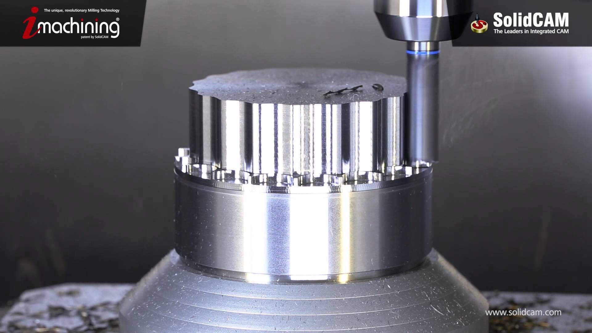 SolidCAM Impeller Milling