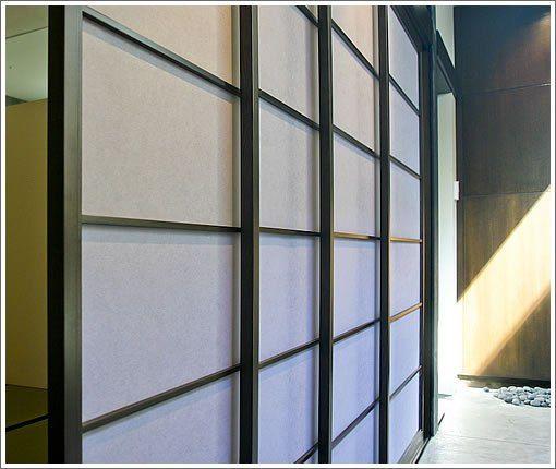 El shoji o panel japon s arquitectura japonesa - Puertas shoji ...