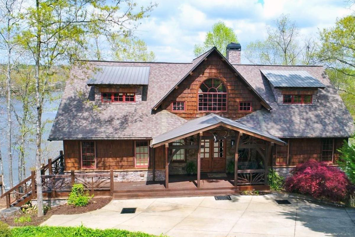 Plan 92300mx Stunning Rustic Home Plan Rustic House Plans Stone House Plans Architectural Design House Plans