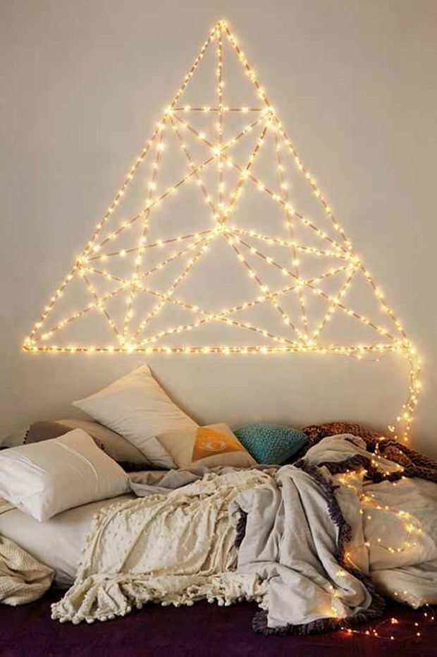 Extra Long Firefly String Lights Gold One
