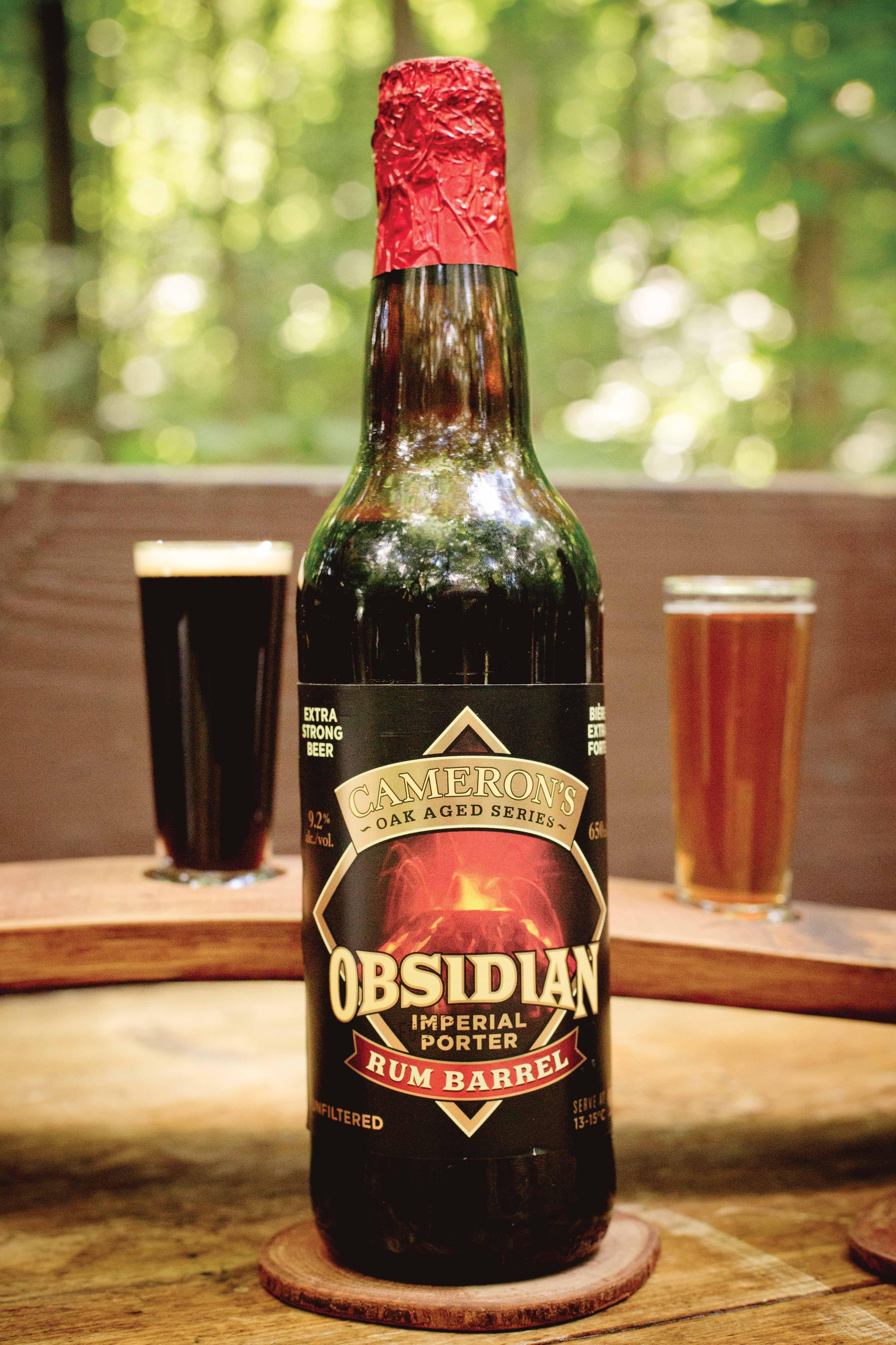 Obsidian Imperial Porter Rum Barrel Aged 9.2 Cameron's