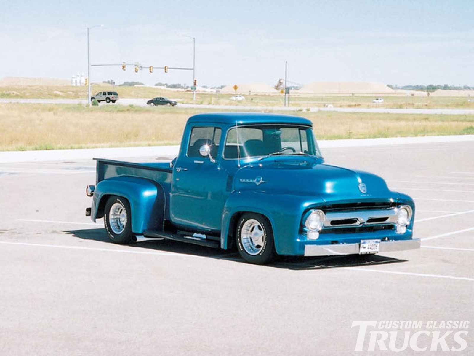 Classic trucks custom classic trucks readers rides 1956 ford f100 photo 1
