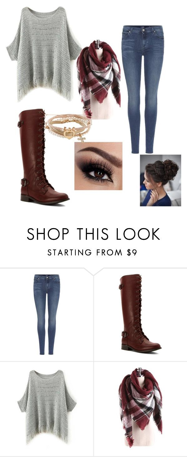 """""""Untitled #136"""" by ariannadubois on Polyvore featuring 7 For All Mankind, Wanted and Aéropostale"""