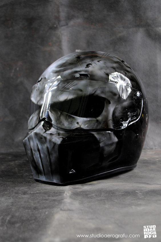 punisher motorcycle helmets motorr der nette bilder und. Black Bedroom Furniture Sets. Home Design Ideas