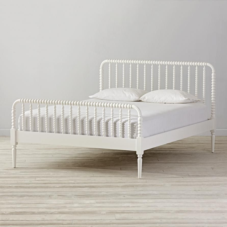 Jenny Lind Kids Bed White Crate And Barrel White Queen Bed