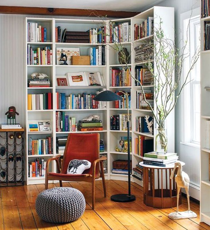 How Do I Decorate My Empty Corners Bookshelves In Living Room Ikea Living Room Rooms Home Decor
