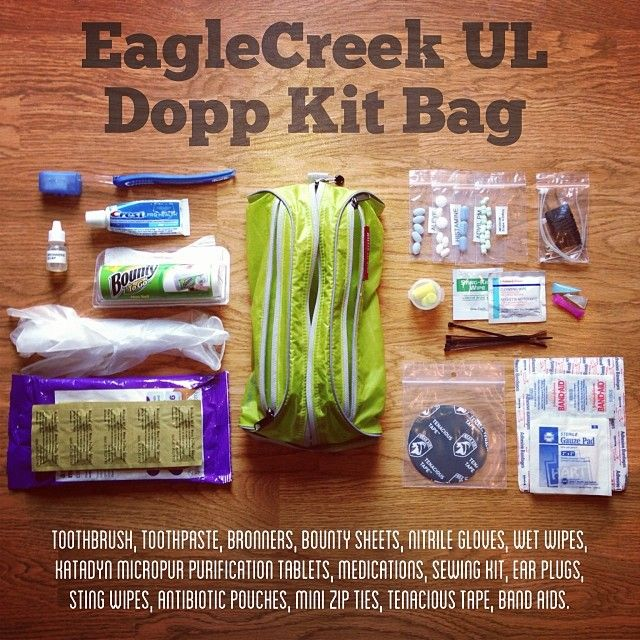 5d9839619f I m tired of using ziplock bags for UL backpacking. I ve switched to this   EagleCreek ultralight (1oz) Pack-It™ Specter Quick Trip  doppkit bag and  I m ...
